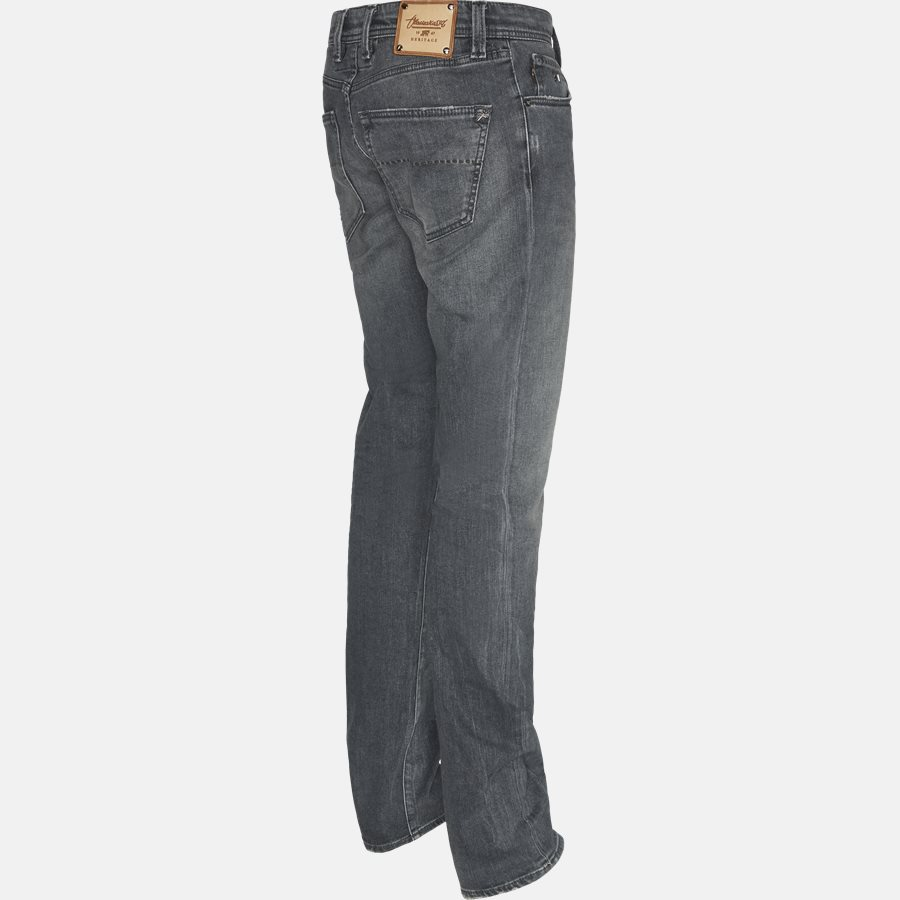 LEONARDO D313 - Jeans - Jeans - Slim - GREY - 3