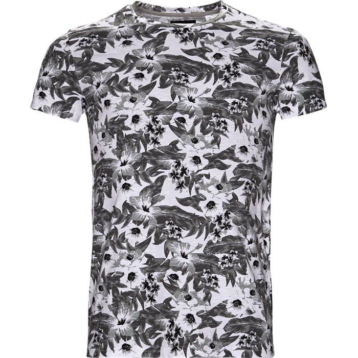 Clifton Flower - T-shirts - Regular - Hvid