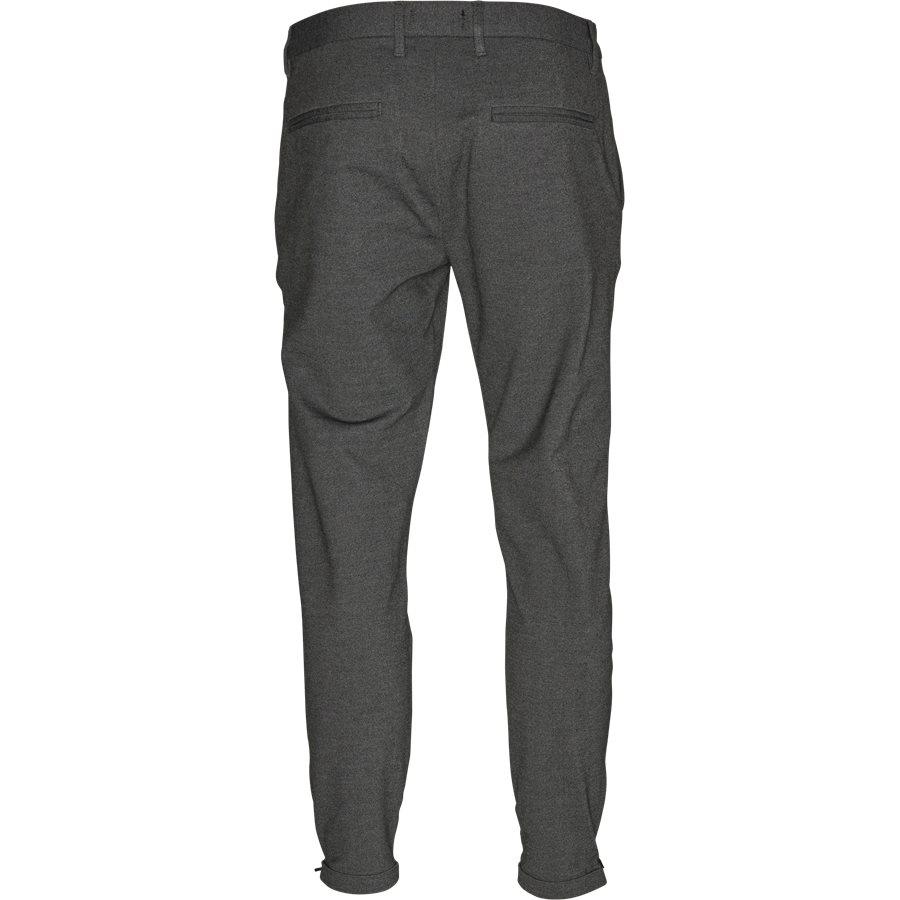 PISA JERSEY V2 - Pisa Jersey Bukser - Bukser - Regular - GRÅ - 2