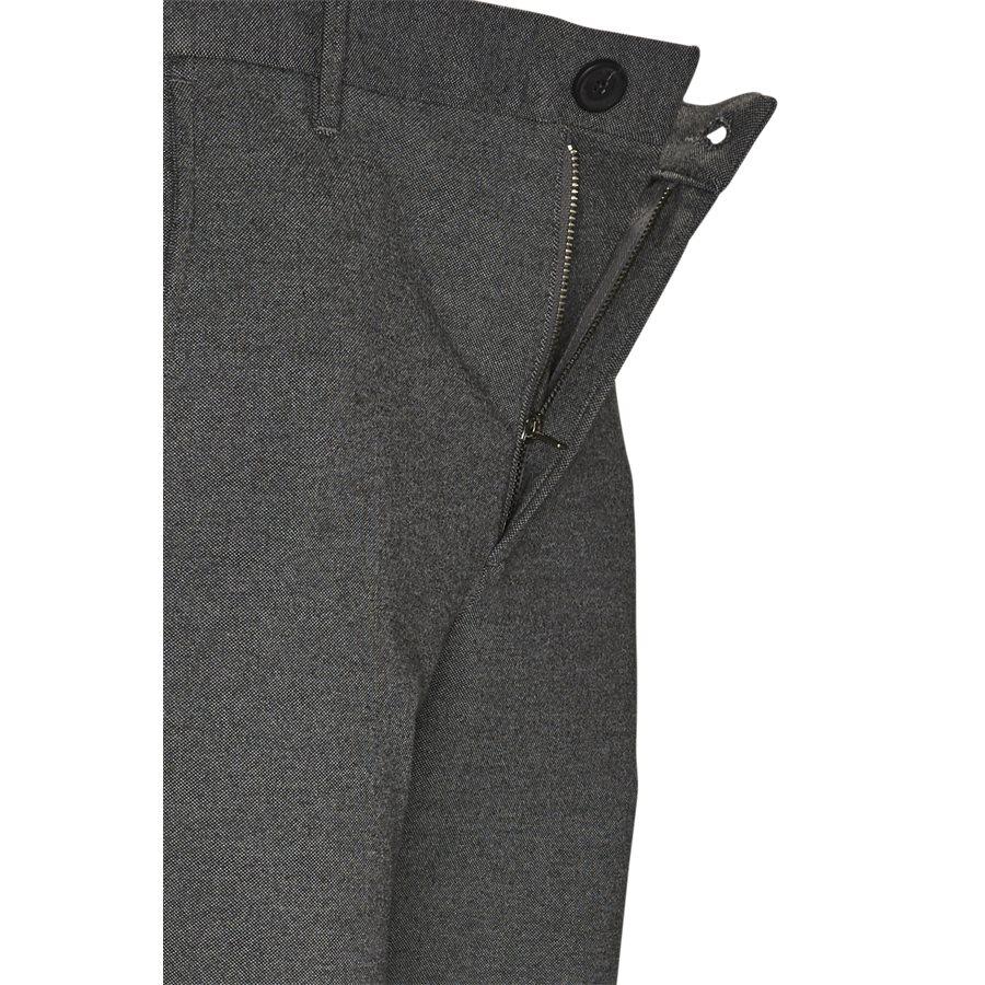 PISA JERSEY V2 - Pisa Jersey Bukser - Bukser - Regular - GRÅ - 4