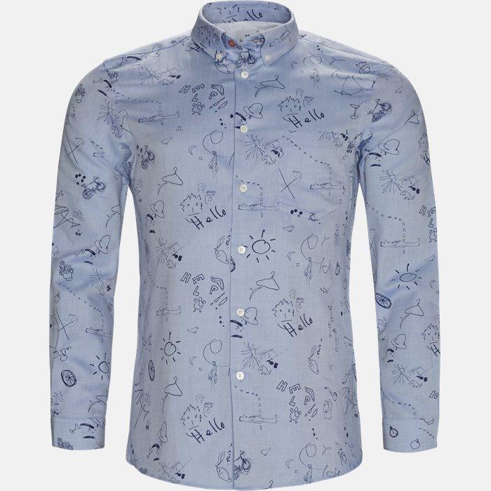 skjorte - Skjorter - Tailor - Blå