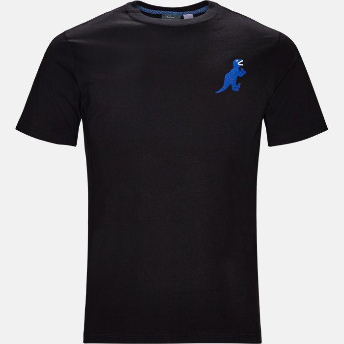 T-shirt - T-shirts - Regular fit - Sort