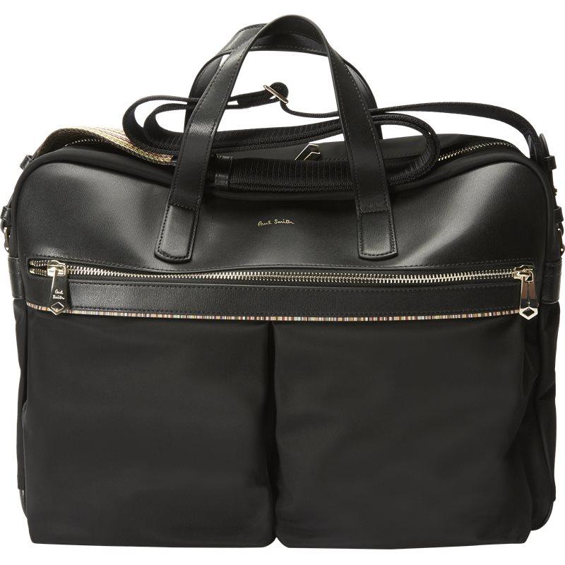 Paul smith accessories 5554 a40055 tasker black fra paul smith accessories fra Edgy