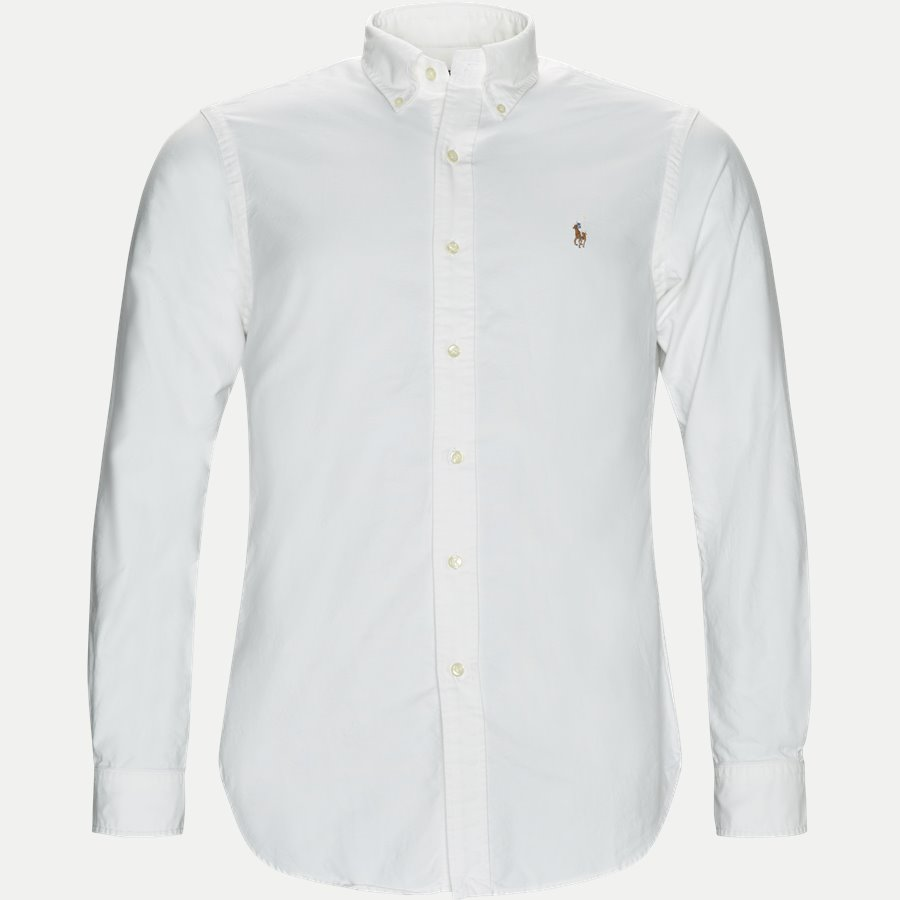 710549084/710548535 - Button-down Oxford Skjorte - Skjorter - HVID - 1