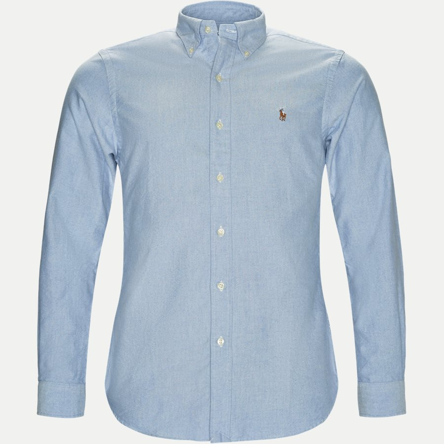710549084/710548535 - Button-down Oxford Skjorte - Skjorter - LYSBLÅ - 1