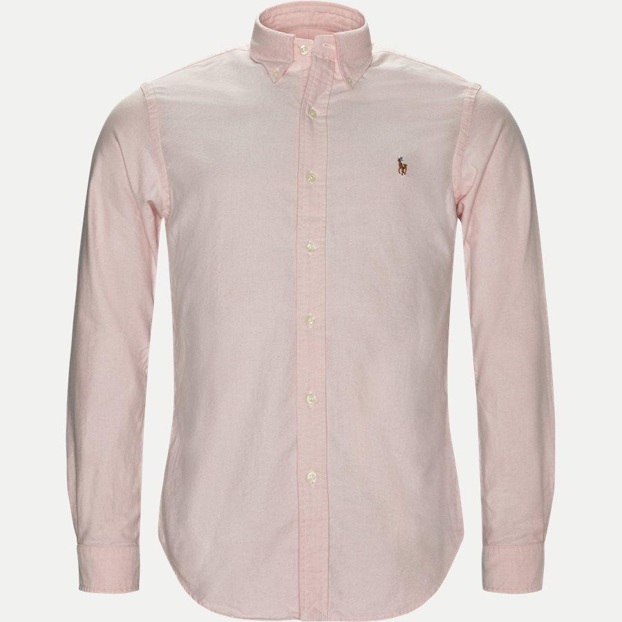 710549084/710548535 - Button-Down Oxford Skjorte - Skjorter - LYSERØD - 1