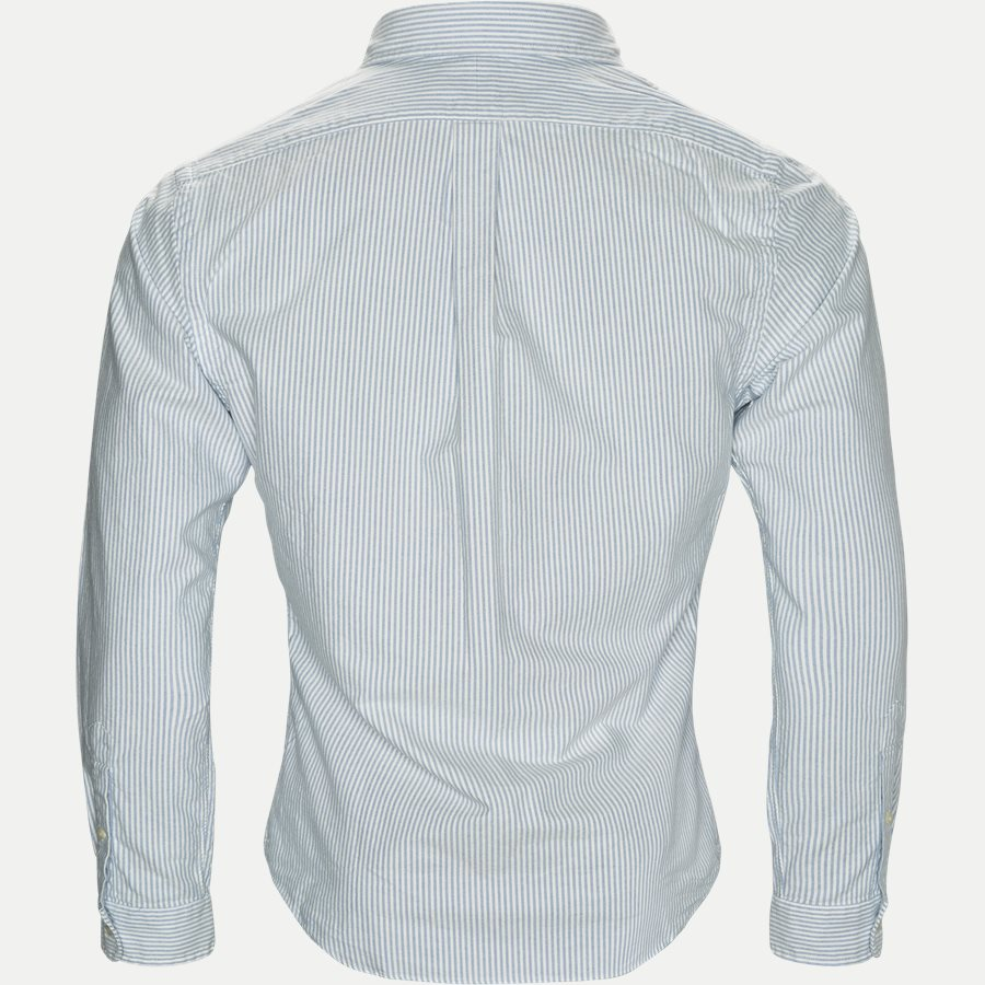 710549084009/710548535006 - Button-down Oxford Skjorte - Skjorter - BLÅ/HVID - 2