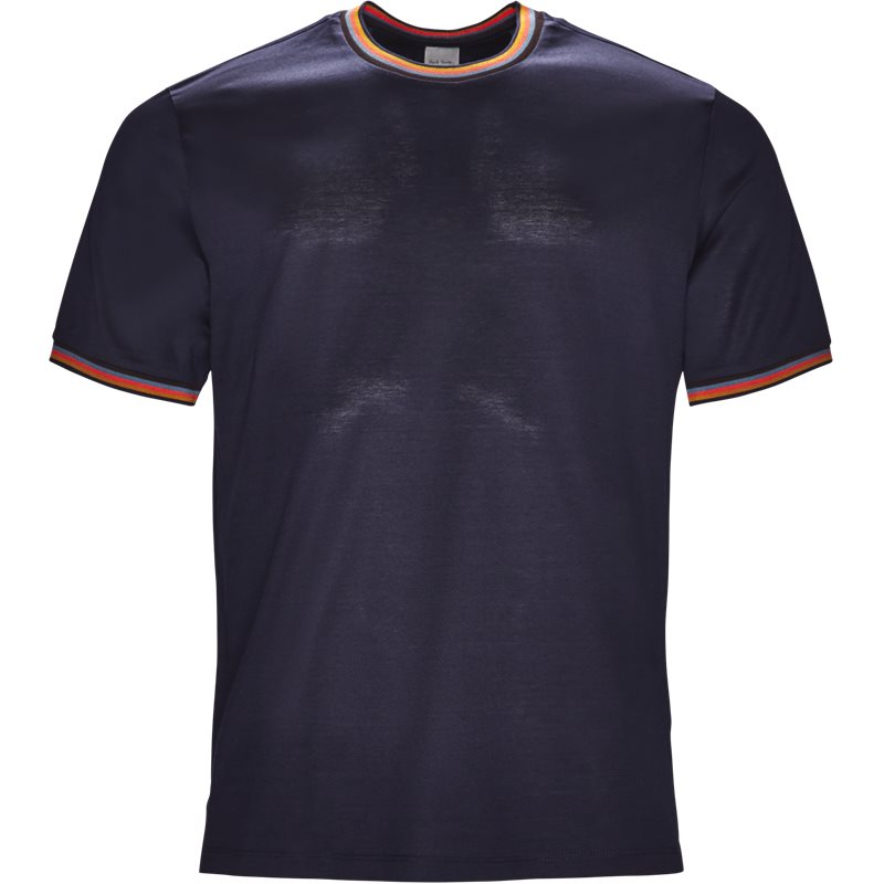 paul smith main Paul smith main 348s a00088 t-shirts navy på axel.dk
