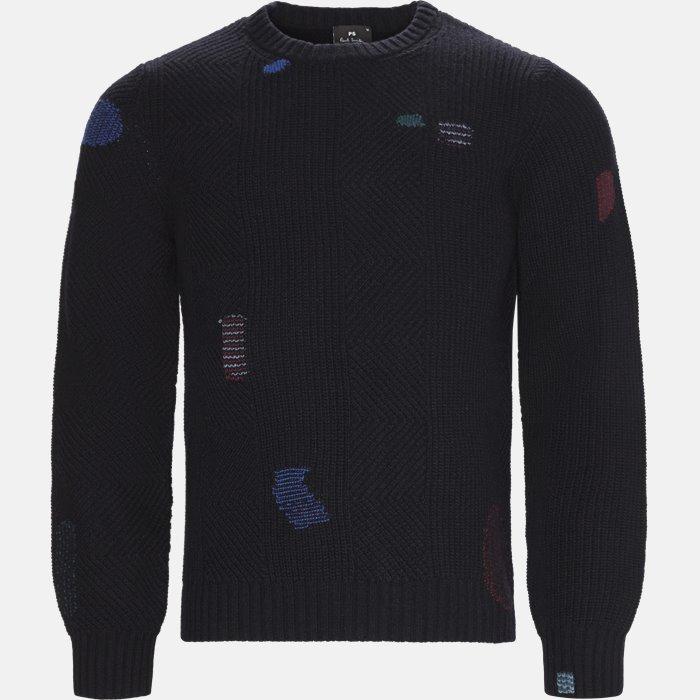strik - Strik - Regular fit - Blå