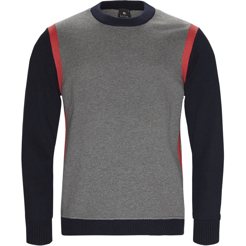 ps by paul smith – Ps by paul smith regular fit 180s a20187 strik grey/navy fra axel.dk