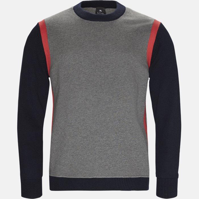 Knitwear - Regular fit - Grey