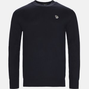 strik Regular fit | strik | Blå