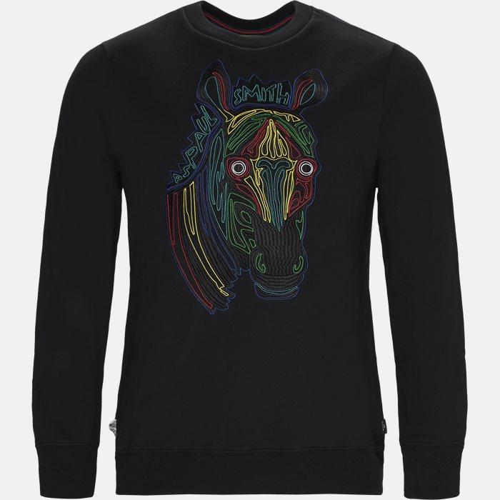 T-shirt - Sweatshirts - Regular fit - Blå
