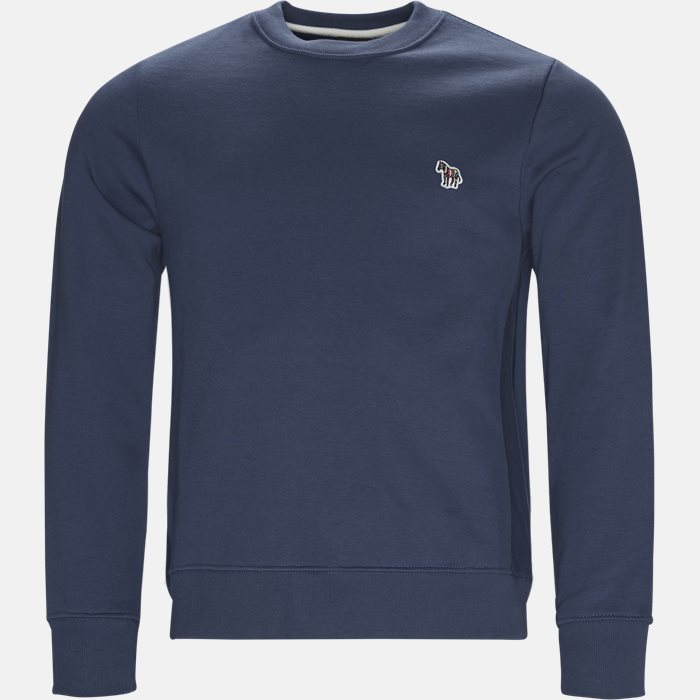 Sweatshirts - Regular fit - Blå