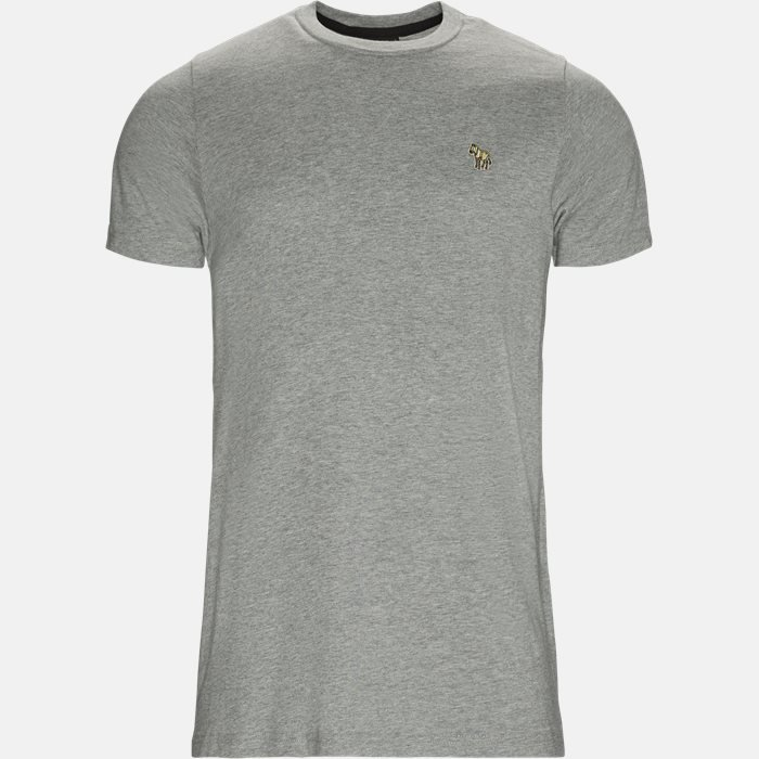 T-shirt - T-shirts - Slim - Grå