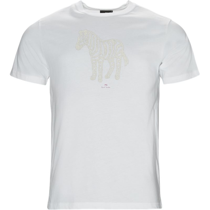 Ps by paul smith t-shirt white fra ps by paul smith fra axel.dk