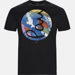 T-shirt Regular fit | T-shirt | Sort