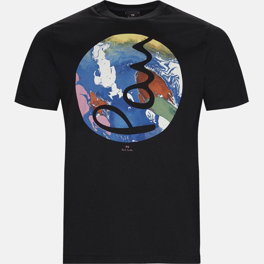11R P0673 - T-shirt - T-shirts - Regular fit - BLACK - 1