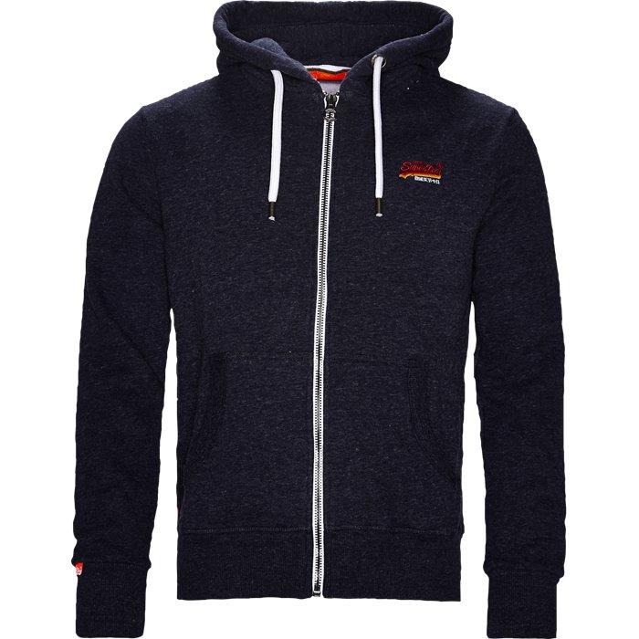 M20012PQ Sweatshirt - Sweatshirts - Regular - Blå