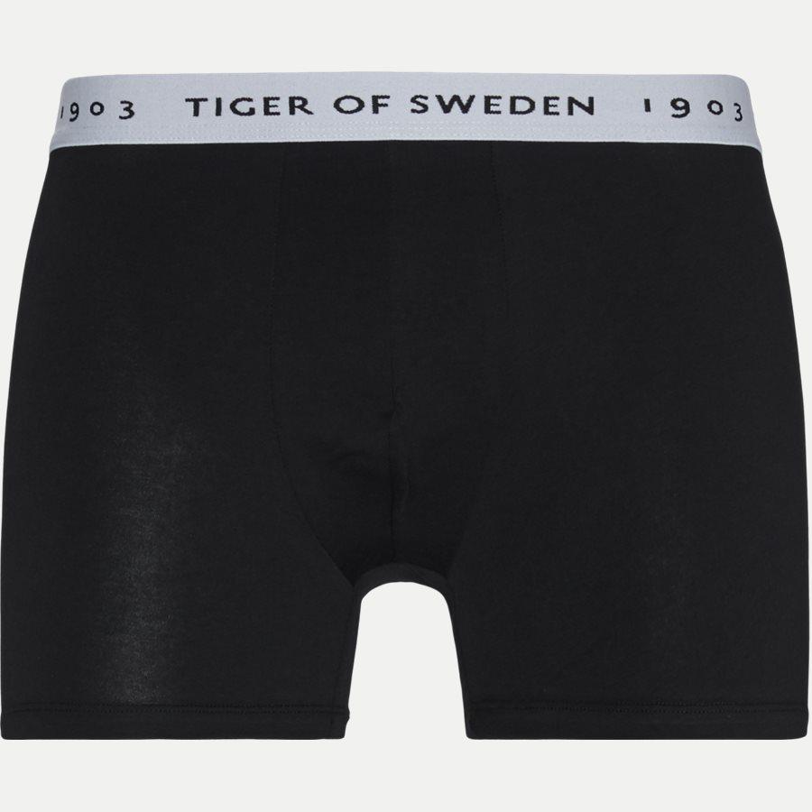 U62105 KNUTS - Knuts 3-pack Boxer Short - Undertøj - Regular - GRÅ/BLÅ/SORT - 2