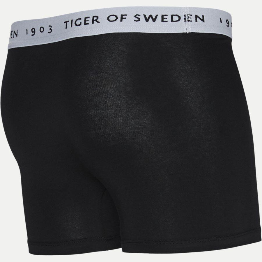 U62105 KNUTS - Knuts 3-pack Boxer Short - Undertøj - Regular - GRÅ/BLÅ/SORT - 4