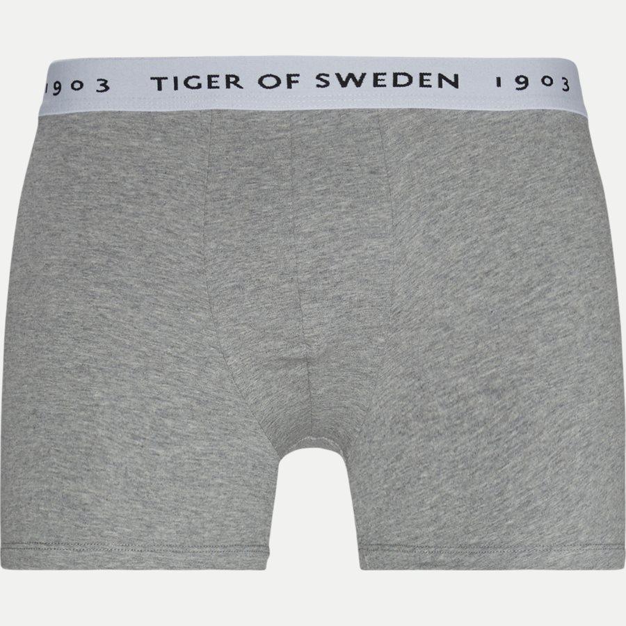 U62105 KNUTS - Knuts 3-pack Boxer Short - Undertøj - Regular - GRÅ/BLÅ/SORT - 5
