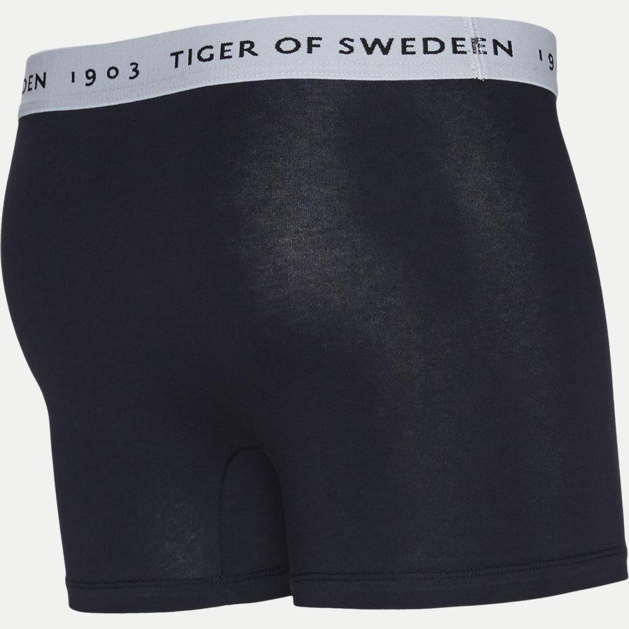 U62105 KNUTS - Knuts 3-pack Boxer Short - Undertøj - Regular - GRÅ/BLÅ/SORT - 10