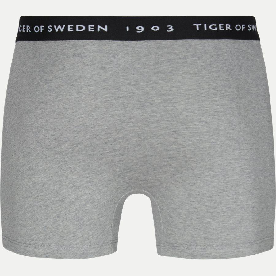 U62105 KNUTS - Knuts 3-pack Boxer Short - Undertøj - Regular - SORT/NAVY/GRÅ - 9