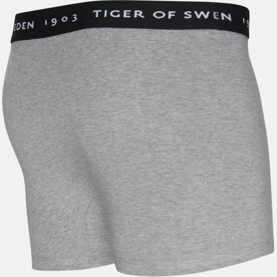 U62105 KNUTS - Knuts 3-pack Boxer Short - Undertøj - Regular - SORT/NAVY/GRÅ - 10