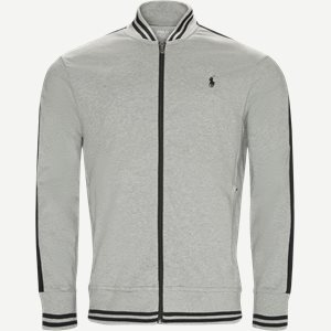 Jersey Track Jacket Regular | Jersey Track Jacket | Grå