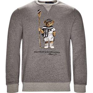 Boathouse Bear Sweatshirt Regular | Boathouse Bear Sweatshirt | Grå