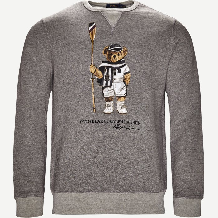 Boathouse Bear Sweatshirt - Sweatshirts - Regular - Grå