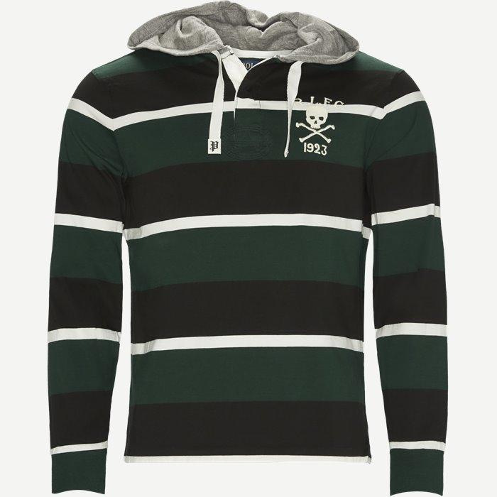 Jersey Long Sleeve Sweatshirt - Sweatshirts - Regular - Sort