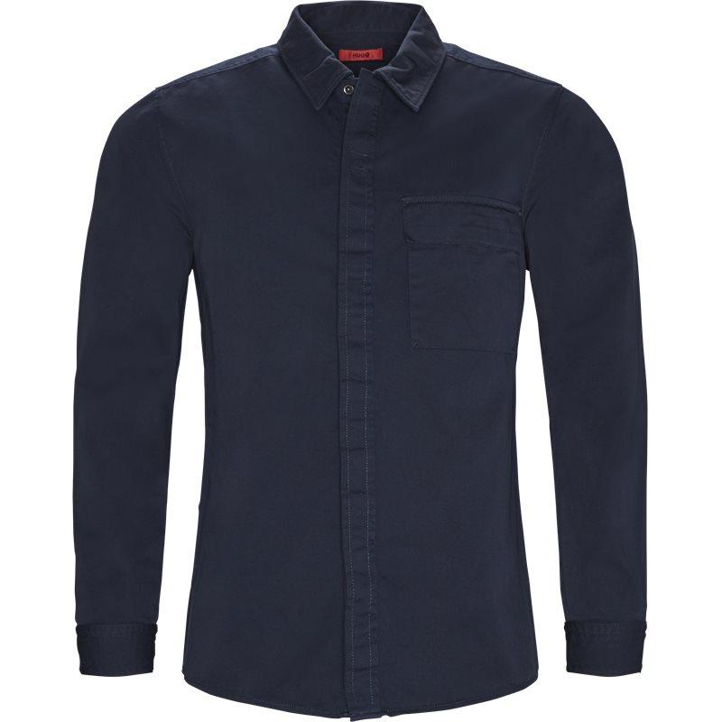 Hugo - etillo denim skjorte fra hugo på kaufmann.dk