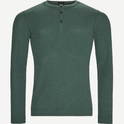 Trix Langærmet T-shirt Slim | Trix Langærmet T-shirt | Grøn