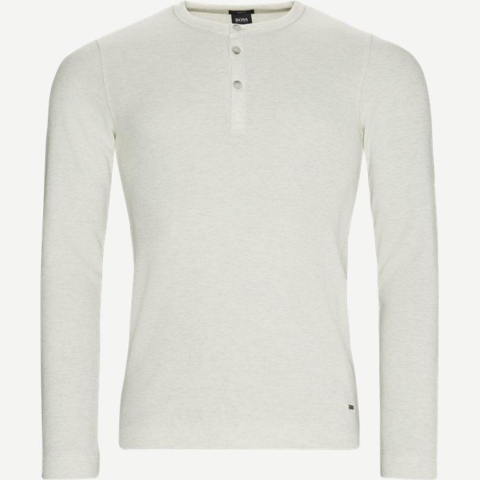 Trix Langærmet T-shirt - T-shirts - Slim - Sand