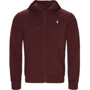 Hooded Zippered Jacket Regular | Hooded Zippered Jacket | Bordeaux