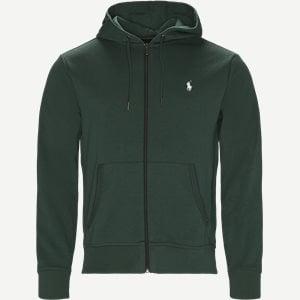 Hooded Zippered Jacket Regular | Hooded Zippered Jacket | Grøn