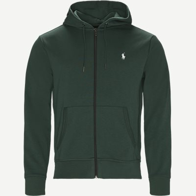 Hooded Zippered Jacket Regular | Hooded Zippered Jacket | Grøn