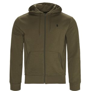 Hooded Zippered Jacket Regular | Hooded Zippered Jacket | Army