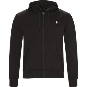 Hooded Zippered Jacket Regular | Hooded Zippered Jacket | Sort