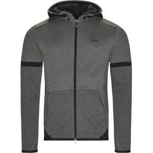 Selnio Hætte Sweatshirt Slim | Selnio Hætte Sweatshirt | Grå