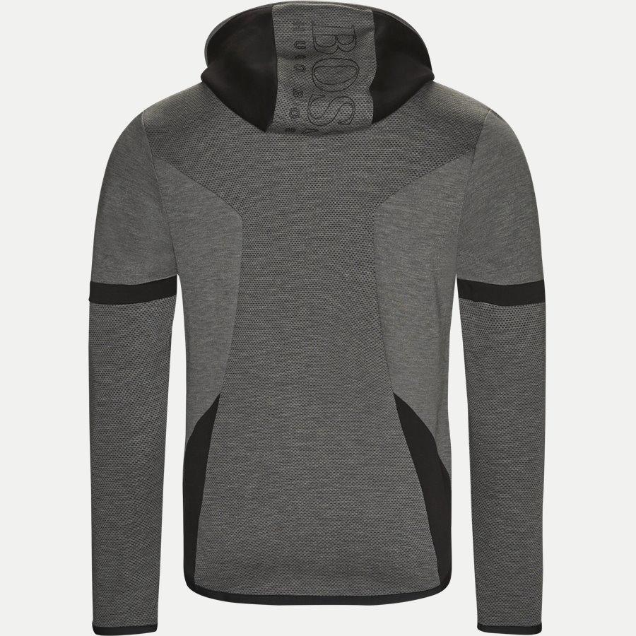 50390019 SELNIO - Selnio Hætte Sweatshirt - Sweatshirts - Slim - GRÅ - 2