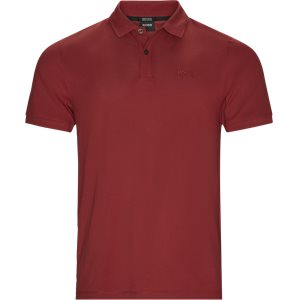 Pallas Polo T-shirt Regular | Pallas Polo T-shirt | Rød