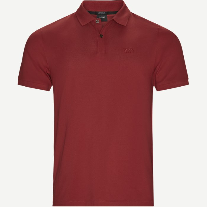 Pallas Polo T-shirt - T-shirts - Regular - Rød