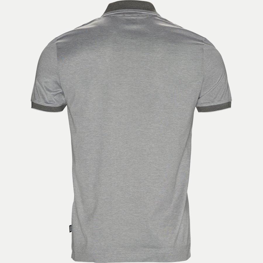 50387546 PHILPSONS - Philpsons Mercerised Polo T-shirt - T-shirts - Slim - GRÅ - 2