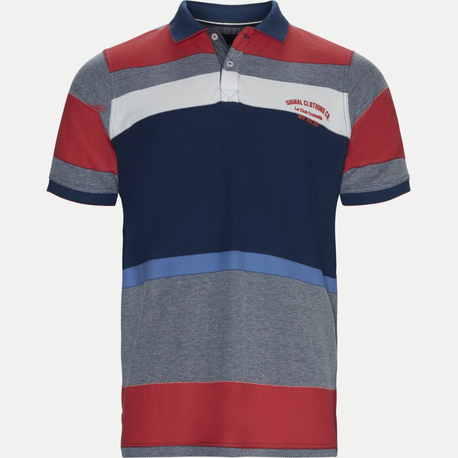 13266 1015 - Polo T-shirt - T-shirts - Regular - RØD - 1