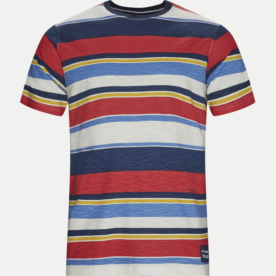 13276 1016 - T-shirt - T-shirts - Regular - RØD - 1