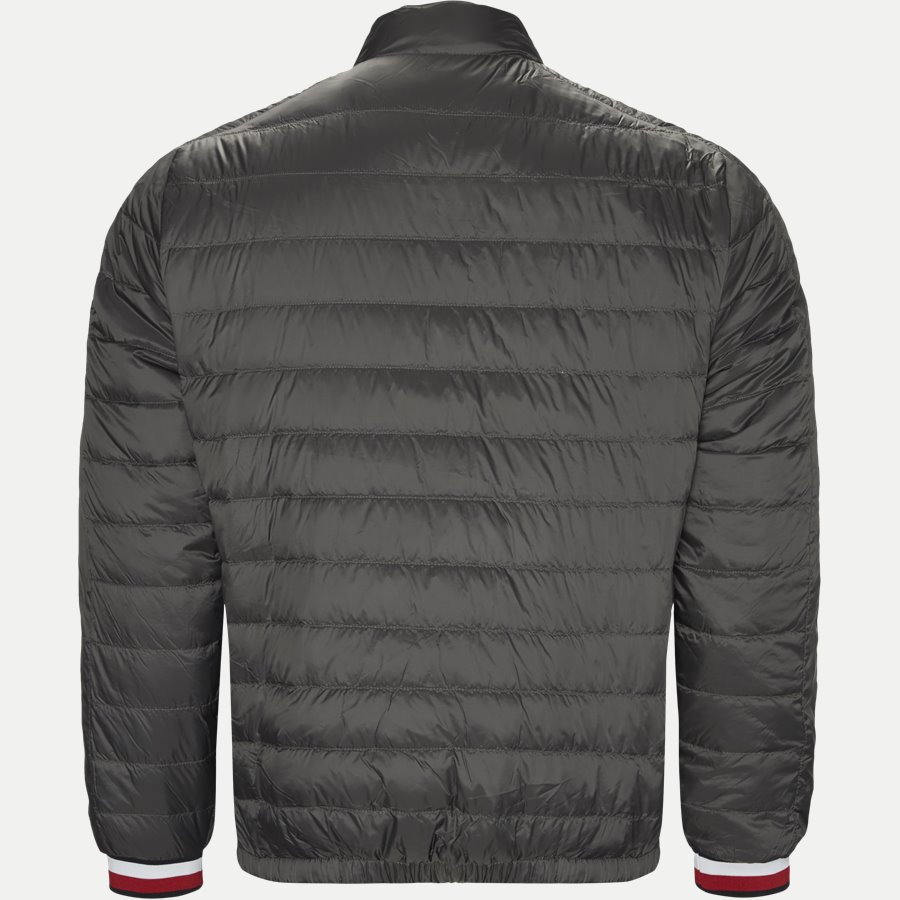 REVERSIBLE NYLON DOWN JACKET 6927 - Vendbar Nylon Dunjakke - Jakker - Regular - GRÅ - 2