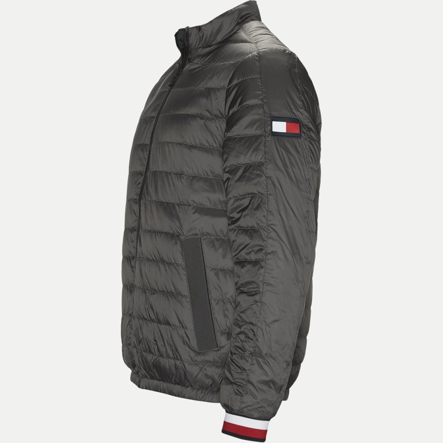 REVERSIBLE NYLON DOWN JACKET 6927 - Vendbar Nylon Dunjakke - Jakker - Regular - GRÅ - 3